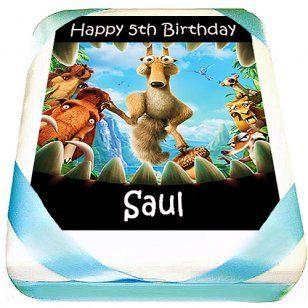 Ice Age Cake | Kids Birthday Cakes Delivered | Custom Cakes
