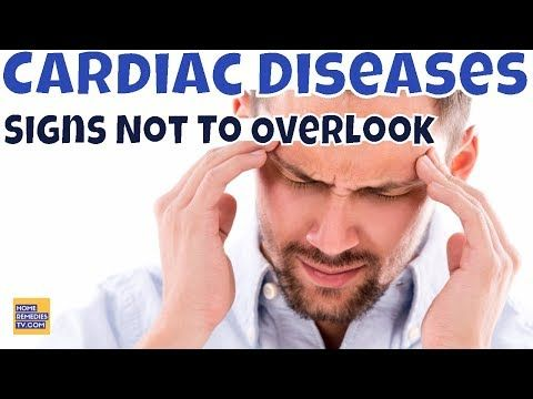 #HealthyLivingTips Don't Ignore These 8 SIGNS of CARDIAC DISEASES. It's... #NaturalCure #Health