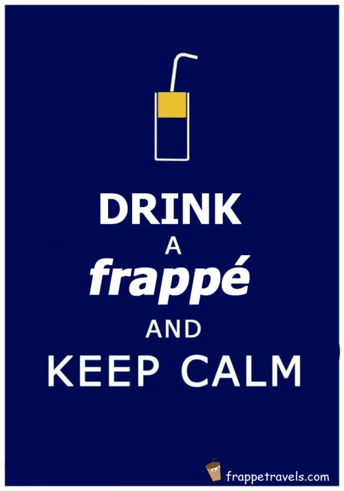Submit your traveling frappe photos! Go to frappetravels.com!