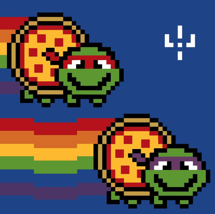 Group of Nyan Cat Family By