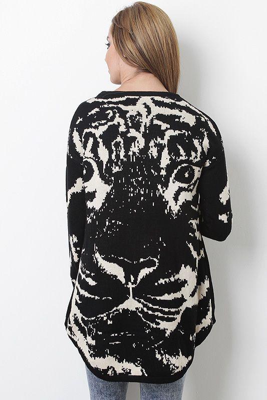 Wild Comfort Sweater