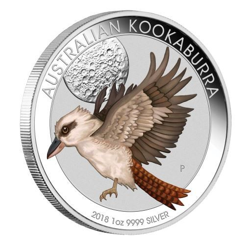 World Money Fair Australian Kookaburra 2018 1oz Silver Coin
