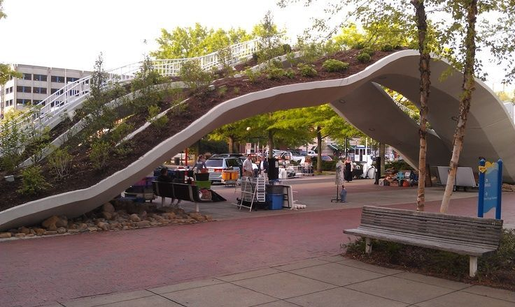 Green bridge arch urban pinterest search bridges for Spaces landscape architecture