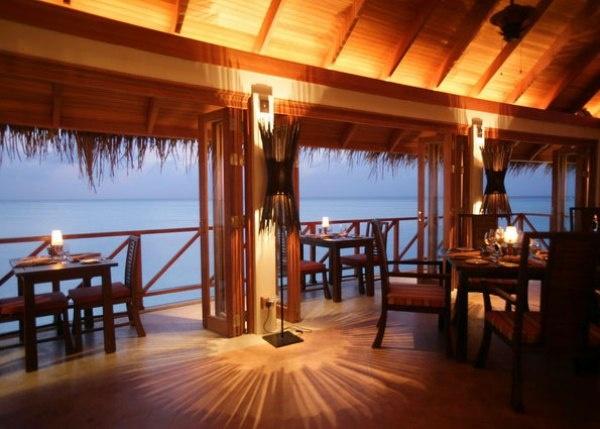 Terrazzo: The restaurant, Anantara Resort, Maldives