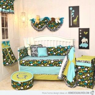 http://www.bawtie.com/4-best-baby-boy-room-themes/ 4 Best Baby Boy Room Themes : Gus Crib Baby Boy Room Themes