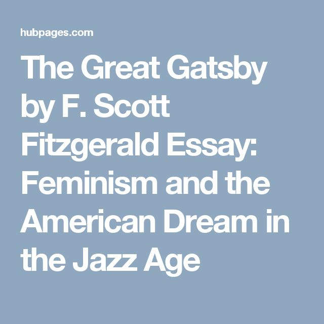 the great gatsby and american beauty, the american dream essay Free essays from bartleby | ultimate subject is the character of the american dream in which, in their respective ways, his principle heroes are all.