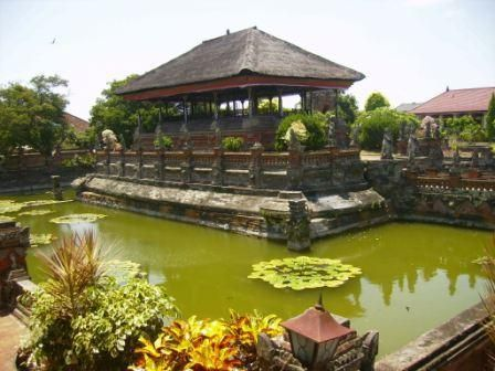 Part of the old palace: Puri Agung Semarapura, kingdom of Klungkung, Klungkung regency, Bali, Indonesia