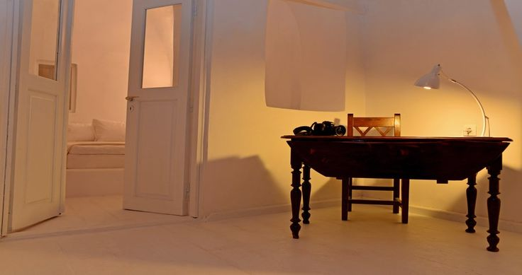 "Check Villa ""Earth"" - Santorini, Greece ! You can rent it ! #luxury #villa #rent #holidays #greece #vacances #grece #alouer #aroomwithaview #sea #bedroom #decoration #swimmingpool #beautiful #sunset #luxuryvilla"