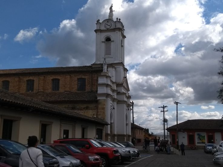 Iglesia del municipio de Tabio, Cundinamarca.