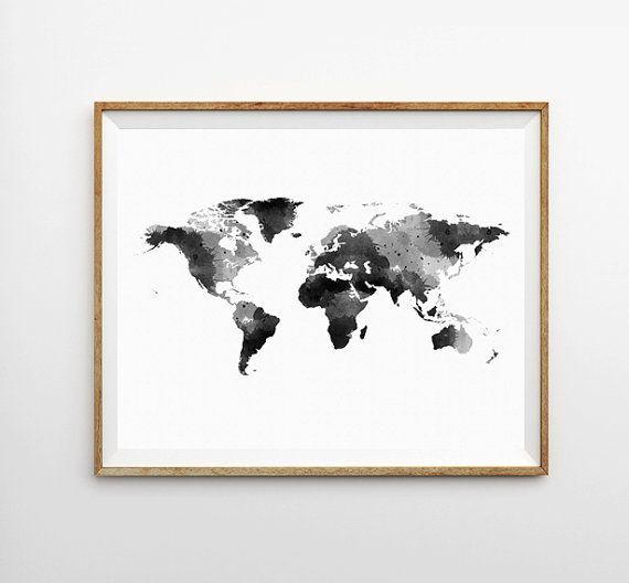 Graphic Design - Graphic Design Ideas  - World Map Watercolor Print, World Map Art Print, World Map Poster, World Map Art...   Graphic Design Ideas :     – Picture :     – Description  World Map Watercolor Print, World Map Art Print, World Map Poster, World Map Art Print, Watercolor P  -Read More –