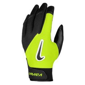 Nike Imara II Batting Glove - Women's - Softball - Sport Equipment - Black/Volt