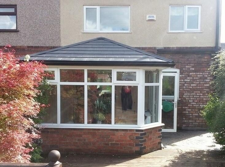 Solid Roof, Real Roof, Garden Room Roof for your Conservatory.  Stay warm in the winter and cool in the summer call us 01942 876 047