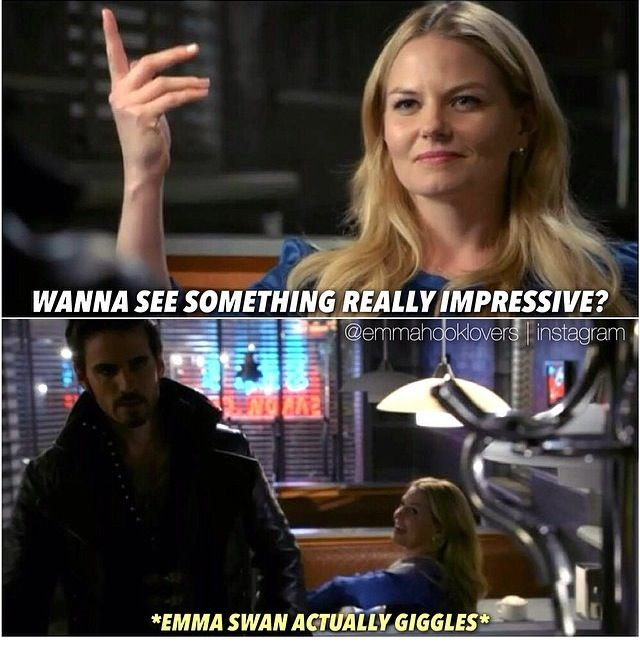 SHE WAS FLIRTING WITH HIM - AND HE DIDN'T RESPOND BECAUSE OF ZELENA'S STUPID CURSE
