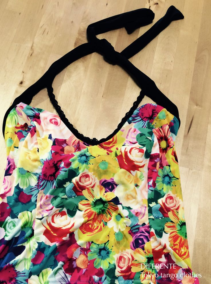 This camisole for Ms.M. It has skirt same fabric.  DIFERENTE tokyo tango clothes