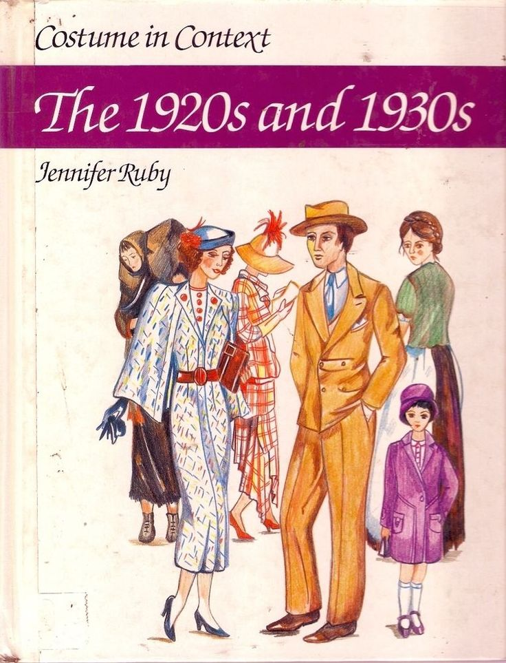 1920s & 1930s. Largely a visual history of costume in the 1920s and 1930s, the book shows major developments in fashion for all strata of society and details the social background to these changes.