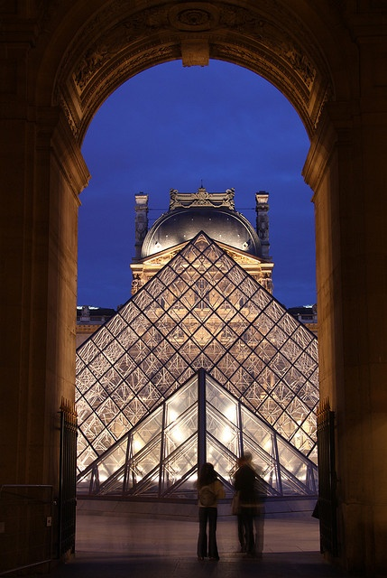 The old and the new - Louvre, Paris