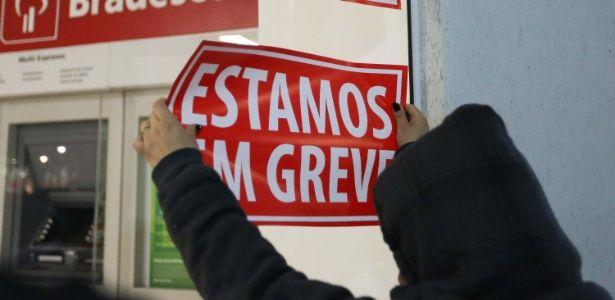 Greve dos bancários completa 30 dias e iguala marca de 2004, diz sindicato
