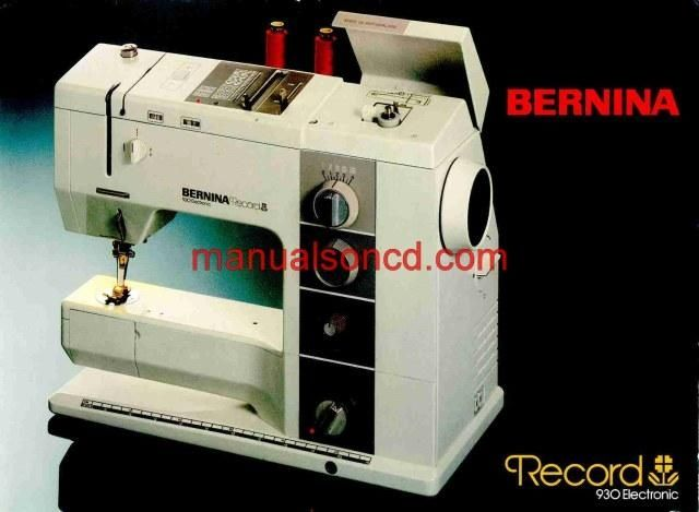 Bernina 930 Record sewing machine instruction and owners manual. It is 52 pages long. A download link will be emailed to you. Share this: