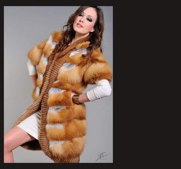 Canadian Fox Fur Jacket.
