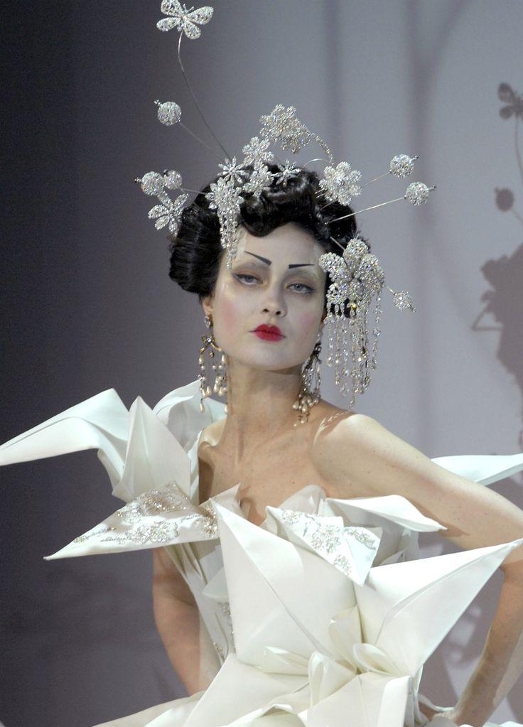 Origami Inspiration: John Galiano for Dior. ZsaZsa Bellagio – Like No Other: Coooool Stuff