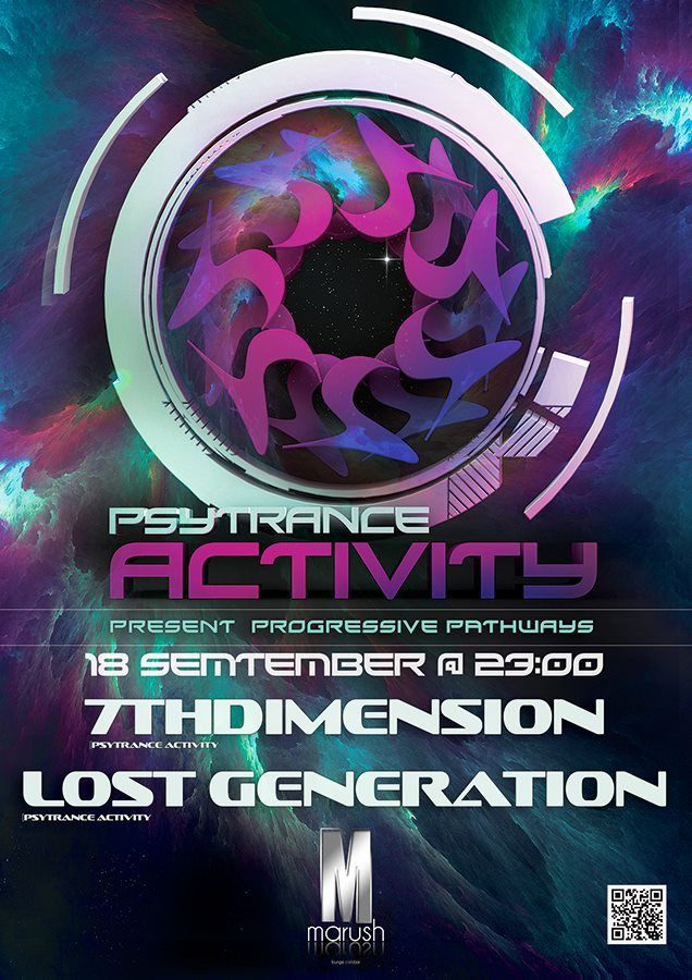 Psytrance Activity Poster Design by Alex Neuf for more info* https://www.facebook.com/events/354812137998524/