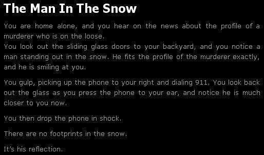Short scary story