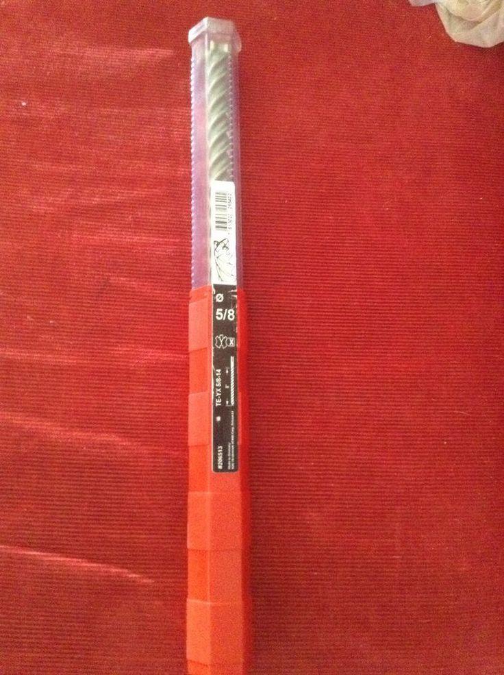 hilti hammer drill bits. hilti te-yx 5/8-14 #206513 hammer drill bit brand new hilti bits