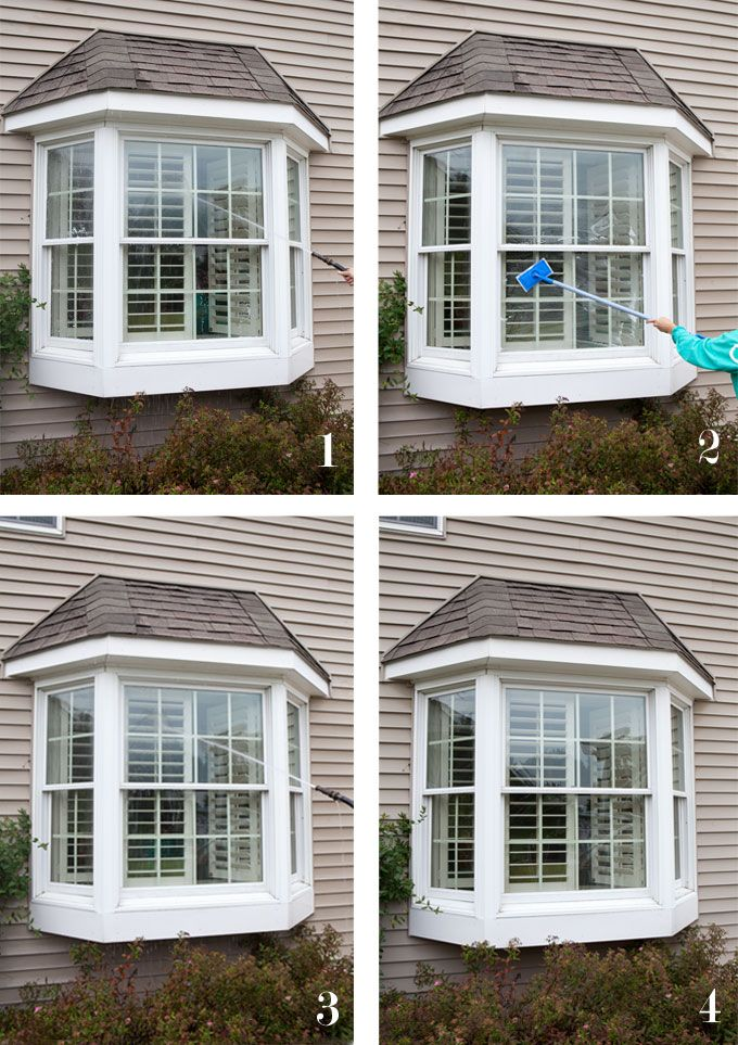 Sharing my window cleaning tips and the best product to clean second floor  or hard to