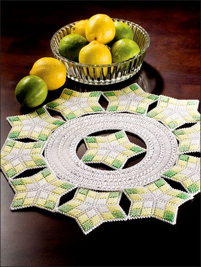 Plastic Canvas Doilies