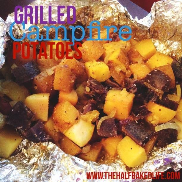Grilled Campfire Potatos