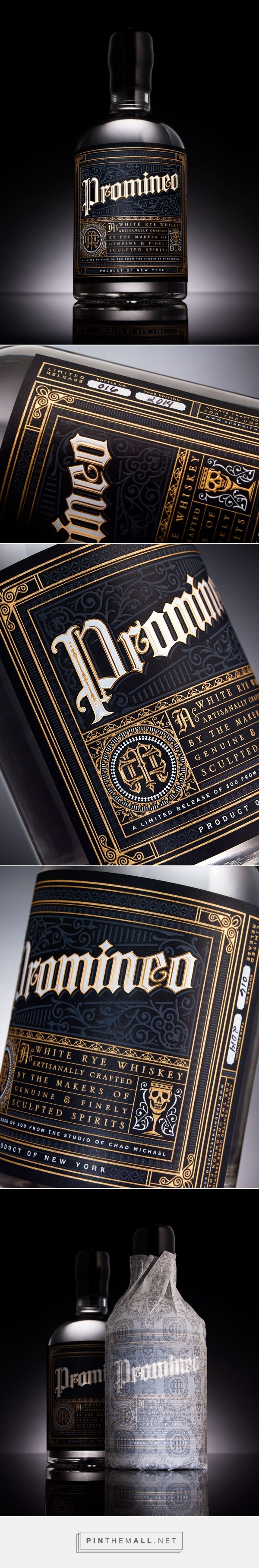 Promineo Whiskey — The Dieline - Branding & Packaging Design (Bottle Photography)