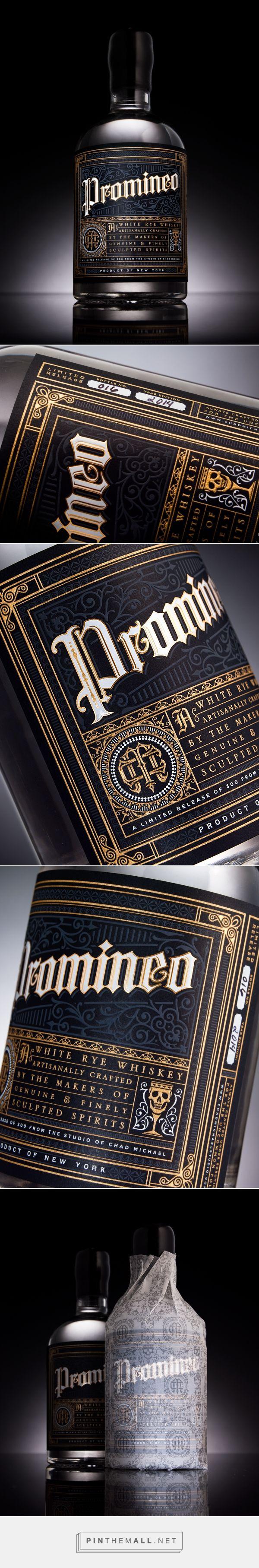 Promineo Whiskey — The Dieline - Branding & Packaging Design