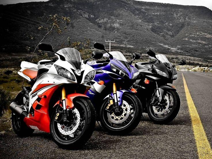 sportovní snímky, motocykly tapety, silniční pozadí