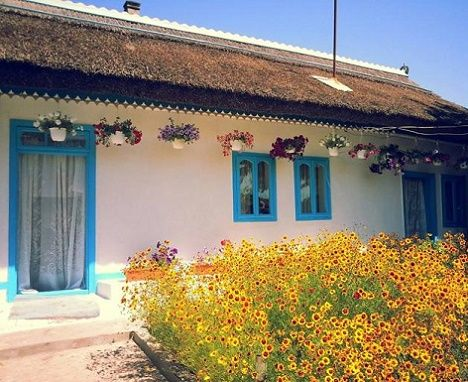 case traditionale din delta dunarii traditional Lippovan houses in the Danube…