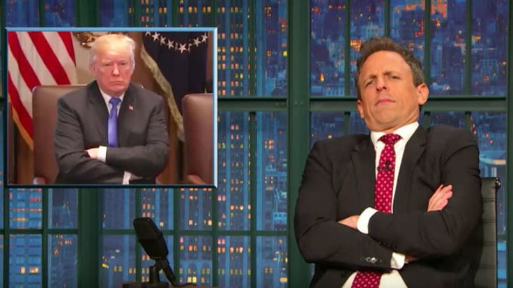 Seth Meyers Ridicules Mike Pence For Going All 'Love Actually' On Trump