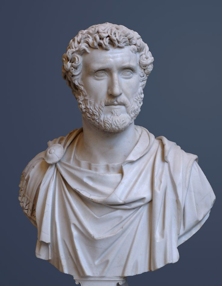 Antoninus Pius was Roman Emperor from 138 to 161. He was a member of the Nerva-Antonine dynasty and the Aurelii.  He acquired the name Pius after his accession to the throne, either because he compelled the Senate to deify his adoptive father Hadrian, or because he had saved senators sentenced to death by Hadrian in his later years.  Known as one of the 5 good emperors