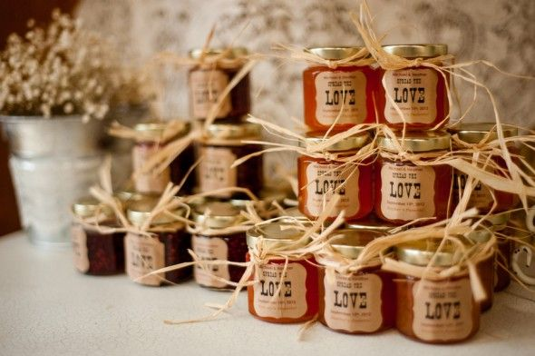 Country Wedding Favor. I would like to give my wedding guests something that reminds them of the country wedding they attended and something to warm up their home.