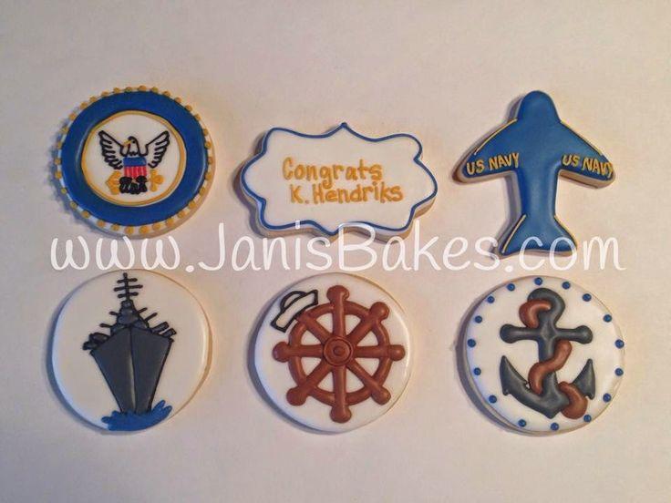 Janis Bakes:  US Navy Cookies