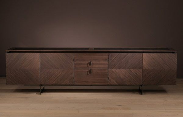 alternate door design using veneer and MDF. modern sideboard credenza storage usona