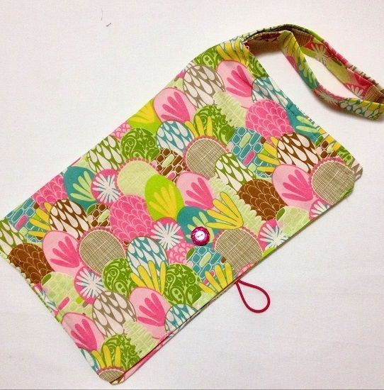 Nappy Clutch/Wallet  - Holds your wipes and nappies together!