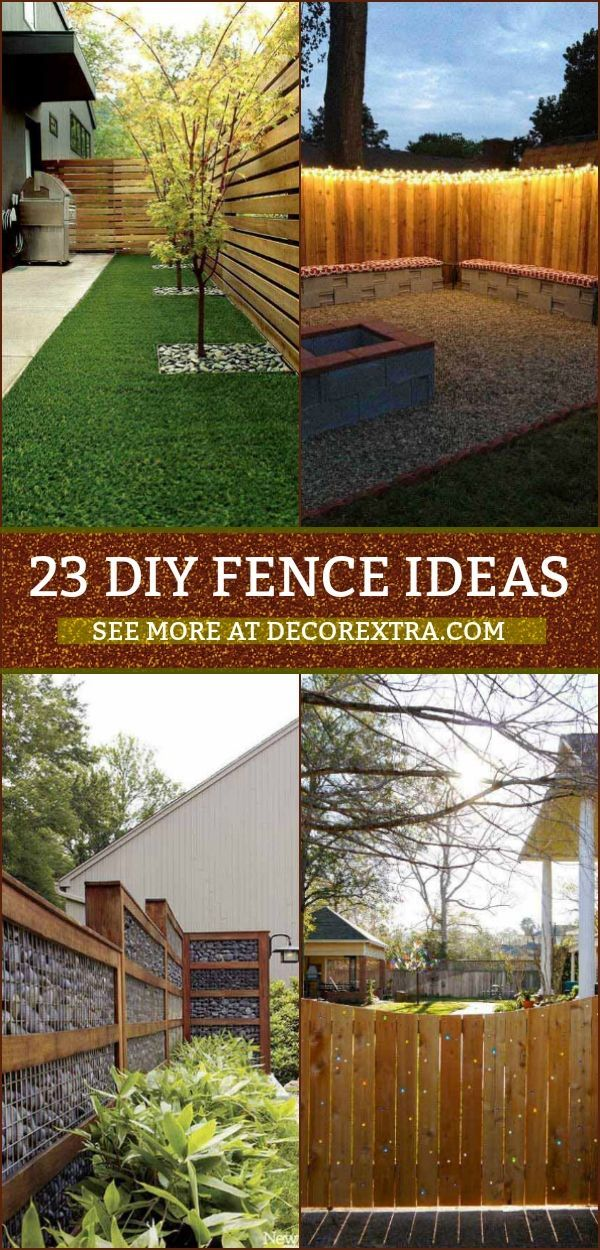 23 Creative Diy Privacy Fence Design Ideas Diy Privacy