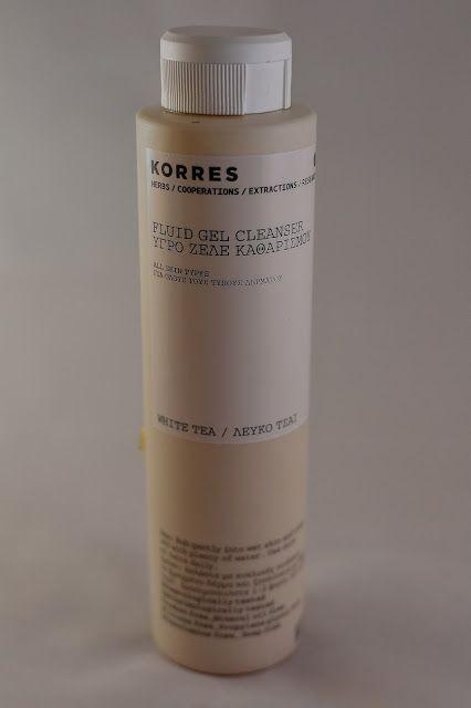 Korres - White tea fluid gel cleanser