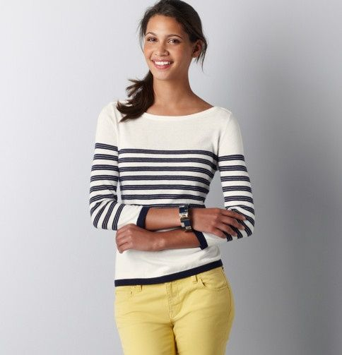 All Loft's Spring stuff has a nautical feel and I ...