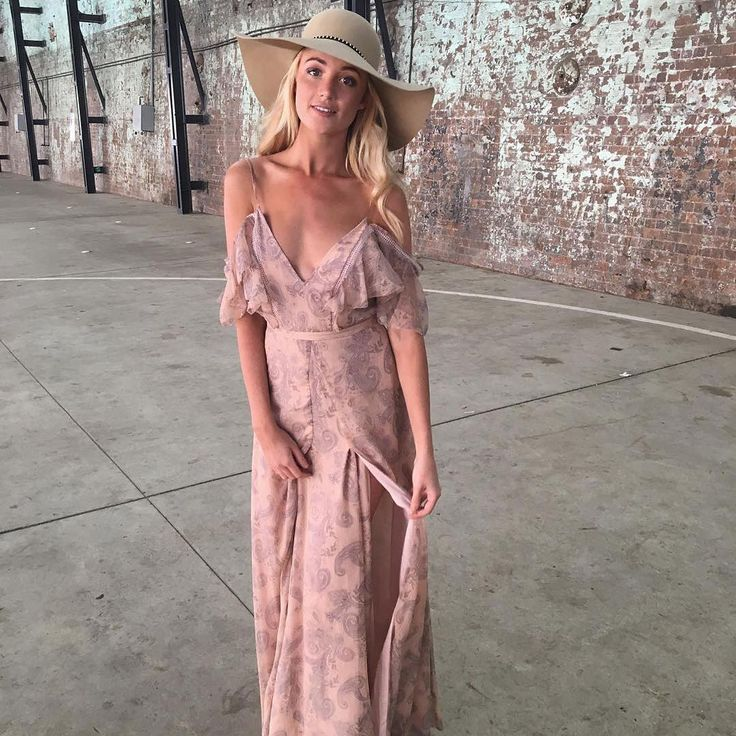 The Jetset Diaries - Sublime Illusion Maxi Dress  Plunge | Off-shoulder | Ruffles | Split | Paisley Print