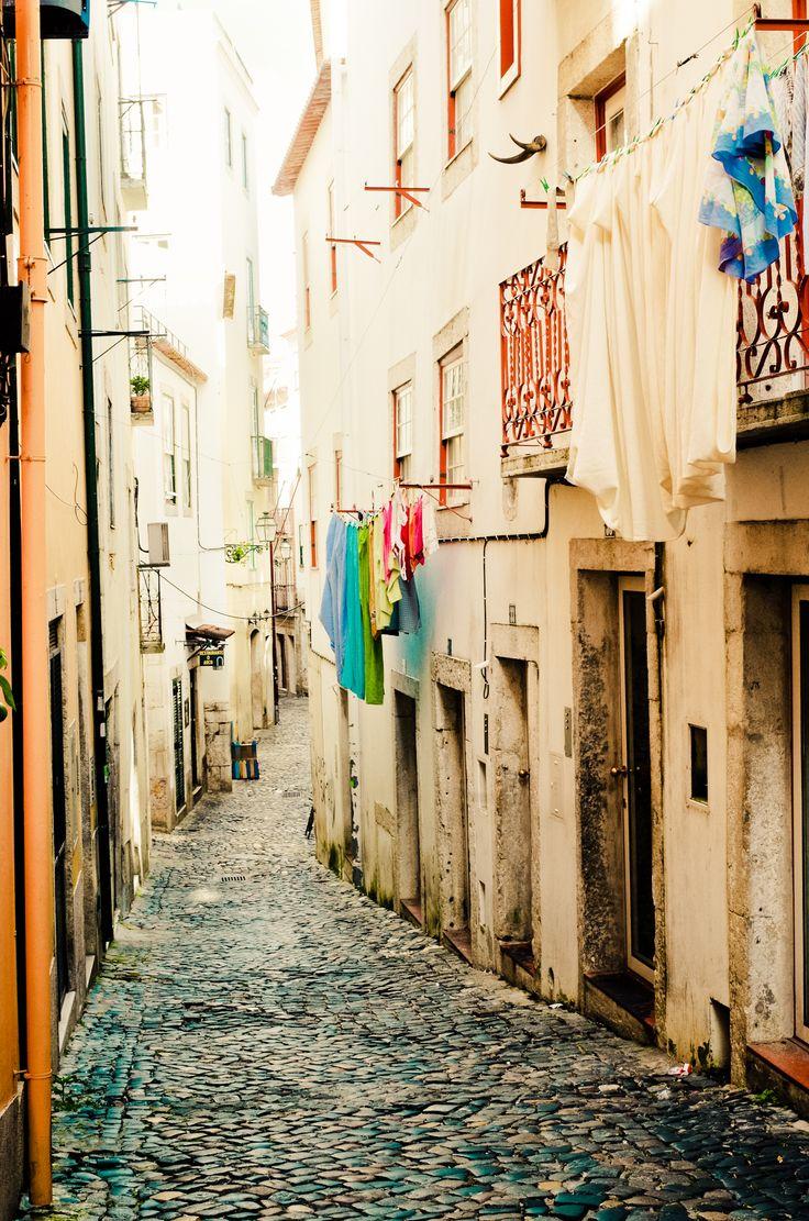 Streets of Alfama #Lisbon #Portugal