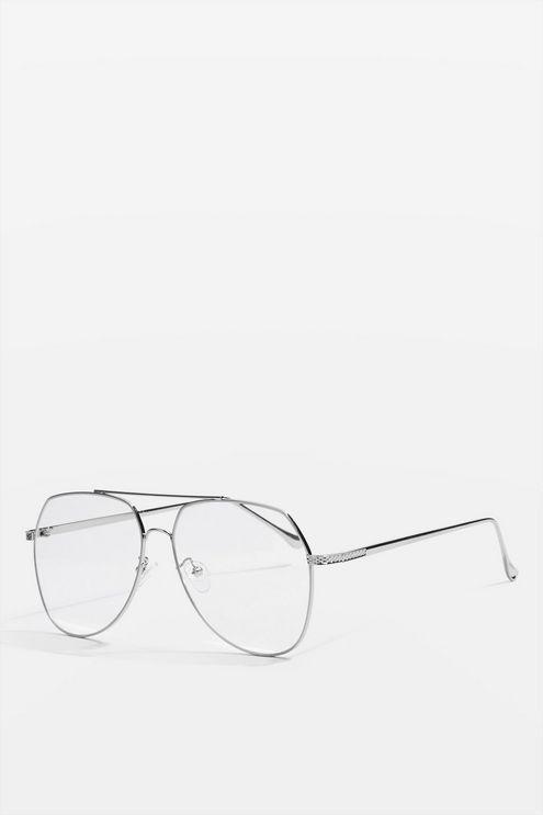 e6f05665136b Flat Lens Aviator Sunglasses