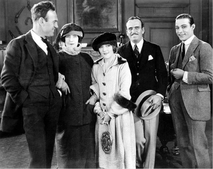 *Rudy with friends*.  Douglas Fairbanks and Mary Pickford are also in this photo !Elinor Glyn, Sam Wood, Mary Pickford, The Rocks, Author Elinor, Douglas Fairbanks, Director Sam, Rudolph Valentino, Wood Left