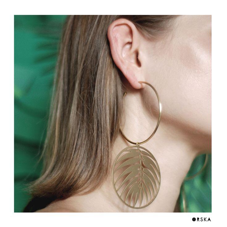 Kolczyki | Insekty IK32-5 | ORSKA - ręcznie wykonana, unikatowa biżuteria. Autorskie i artystyczne projekty Anny Orskiej