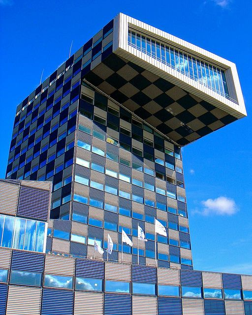 Shipping and Transport College, Rotterdam, The Netherlands by Ken Lee 2010, via Flickr