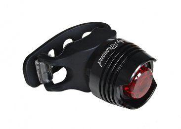 Fahrrad Rücklicht LED von DOSUN schwarz.